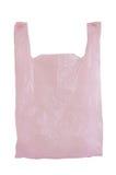 Pink plastic bag Royalty Free Stock Image