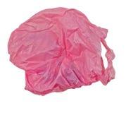 Pink plastic bag Stock Image