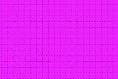 Pink Plastic Board With Dotted Line Like As Graph Paper Royalty Free Stock Photo