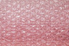 Pink Plastic cushion. Plastic cushion with pink color royalty free stock photo
