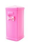 Pink plastic saving box Stock Image