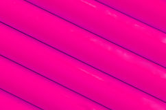 Pink plastic tubing pattern texture background Stock Images