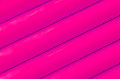 Pink plastic tubing pattern texture background Royalty Free Stock Photos