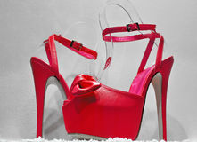 Pink Platforms Royalty Free Stock Image