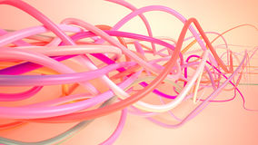 Pink plexus Royalty Free Stock Images