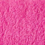 Pink plush texture material Stock Images