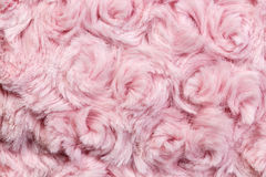 Pink plush or wool texture Royalty Free Stock Photo