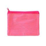 Pink pocket bag on white Royalty Free Stock Images