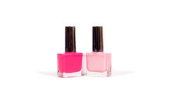 Pink polish Stock Photography