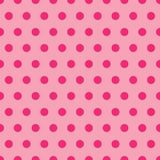 Pink Polka Dot Pattern. A background illustration of polka dots in shades of pink Royalty Free Stock Photography