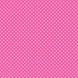 Pink Polka dot pattern Stock Photography