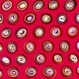 Pink Polka Dots Stock Photo