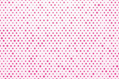 Pink polka dots Royalty Free Stock Image