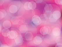 Pink Polygon background. Pink polygon orb shapes abstract background Stock Photo
