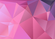 Pink polygonal background Royalty Free Stock Photos