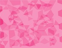 Pink polygonal illustration, which consist of triangles. Geometric background in Origami style with gradient. Triangular design fo. R your business vector illustration