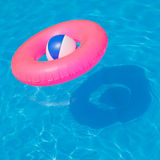 Pink pool float Royalty Free Stock Photos