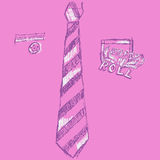 Pink Pop Art Royalty Free Stock Photography