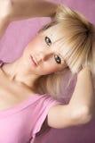 Pink portrait Stock Photo
