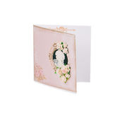 Pink post card. Stock Photography