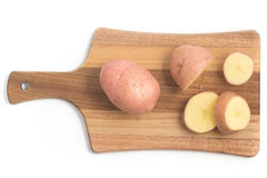 Pink Potato. Asterix Stock Image