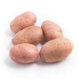 Pink Potato. Asterix Royalty Free Stock Images