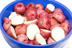 Pink Potatoes Royalty Free Stock Photography
