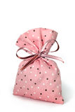 Pink pouch Royalty Free Stock Photography