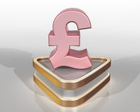 The Pink Pound Stock Photo