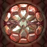 Pink precious stone Stock Photos