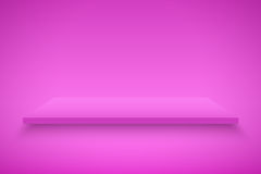 Pink Presentation platform Royalty Free Stock Photography