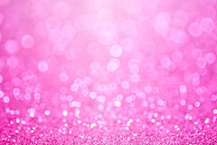 Pink Princess Baby Girl Birthday Background Royalty Free Stock Photos
