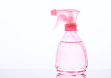 Pink pulverizer on white background Royalty Free Stock Photography