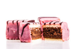 Pink punch cake Stock Image