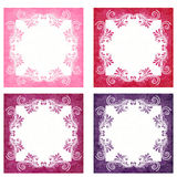Pink and Purple Backgrounds Stock Photography