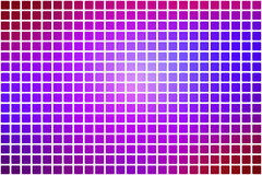 Pink purple blue abstract rounded mosaic background over white Stock Image