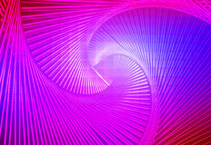 Pink purple blue glowing spiral background Royalty Free Stock Photo