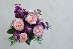 Pink and Purple Bouquet Royalty Free Stock Images