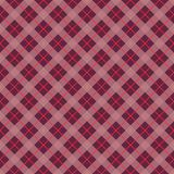 Plaid Check Seamless Pattern. Pink and purple checkered plaid flannel design vector illustration