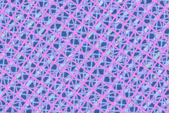 Pink, Purple Computer Generated Abstract Geometric Pattern Stock Images