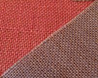 Pink & Purple fabric in diagonal Royalty Free Stock Image