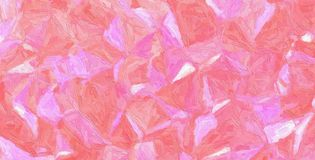 Pink and purple Impasto with large brush strokes background illustration. royalty free stock photos