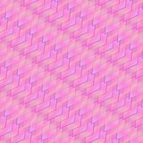 Pink, purple and light blue rhombuses and squares in a bright vivid pattern vector illustration