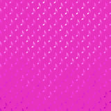 Pink Purple Musical Notes Metallic Faux Foil Polka Dot Dots Pattern Stock Photography