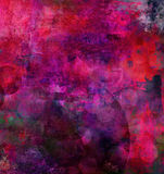 Pink purple painting Stock Images