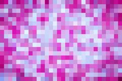 Pink and purple pixel background Royalty Free Stock Photos