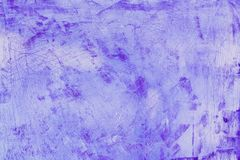 Pink Purple Plaster grunge on concrete cement background texture Royalty Free Stock Photo