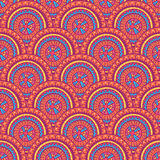 Pink and purple round patterns Royalty Free Stock Image
