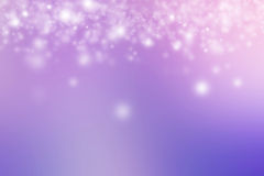 Pink and purple snow pastel background Stock Photos