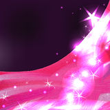 Pink purple ster light Royalty Free Stock Images